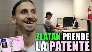 ZLATAN E LA PATENTE