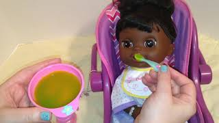 Baby Alive Real Surprises Doll Violet Night Routine
