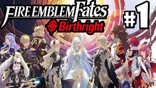 Fire Emblem Fates Gameplay Walkthrough PART 1 Birthright Character Creation Nintendo 3DS English If