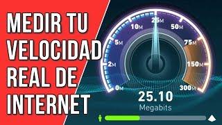 Como medir la velocidad real de Internet