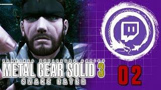 METAL GEAR SOLID 3: SNAKE EATER | Metal Gear Saga Part 21 | Stream Four Star