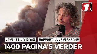 """Vuurwerkramprapport van Buitenen: """"kan consumentenvuurwerk een massa-explosie veroorzaken?"""""""