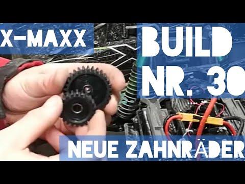X-Maxx neue Zahnräder Build Teil 30  | HD | Deutsch / German