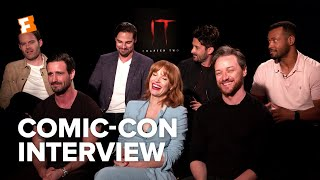 The Cast of IT Chapter Two Bonded Over Karaoke | Comic-Con Interview | Fandango