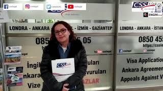 Turist Vizesinden Ret Almışlardı, CSS Legal ile Ankara Anlaşması Vizesi Aldılar!