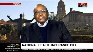 National Health Insurance Bill a step closer