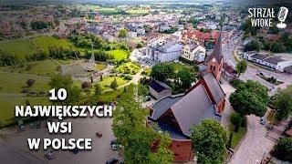 10 Największych wsi w Polsce