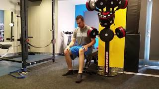 Mobility Lacrosse Ball Foot Smash