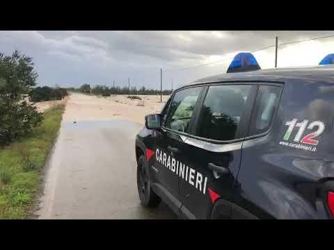 immagine di anteprima del video: Maltempo in Sardegna. Allagamenti a Villacidro