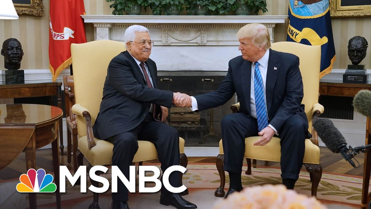 President Trump: Middle East Peace 'Maybe Not As Difficult' As People Think | The 11th Hour | MSNBC thumbnail