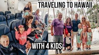 TRAVELING TO HAWAII WITH 4 KIDS | TRAVEL VLOG | HILTON HAWAIIAN VILLAGE  | SUMMER VACATION 2019