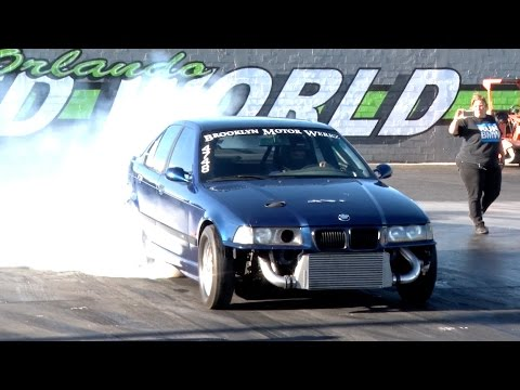 Husband And Wife Bmw Drag Car Mixes E36 M3 Engine With