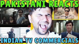 Pakistani Reacts to Indian Tv Commercials #1