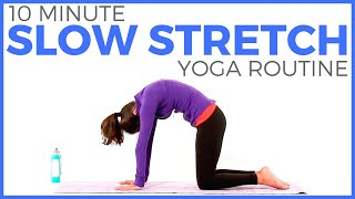 10 minute Simple Slow Stretch Yoga Routine | Sarah Beth Yoga