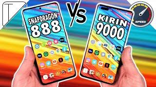 Samsung Galaxy S21 Ultra vs Huawei Mate 40 Pro Speed Test