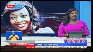 Former TV Presenter Janet Kanini's emotional message before she passed on
