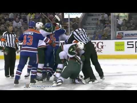Steve MacIntyre vs. Brad Staubitz