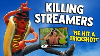Killing Twitch Streamers #7   Fortnite Battle Royale (FUNNY REACTIONS)