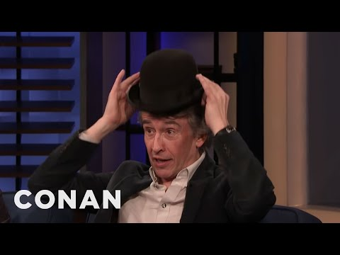 Steve Coogan Does Stan Laurel's Iconic Hat Trick – CONAN on TBS