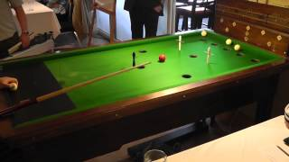 preview picture of video 'Guernsey Bar Billiards Pairs Open Round 1 - Series 1 - Game 1'