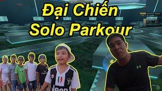 Thanh Niên Liều Mạng Gạ Solo Map Parkour Mới Và Cái Kết Khóc SML | TQ97