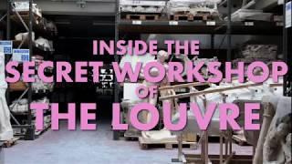 Inside the Secret Workshop of the Louvre | Kholo.pk