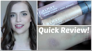 Quick Review: Almay intense i-color liquid shadow + color primers