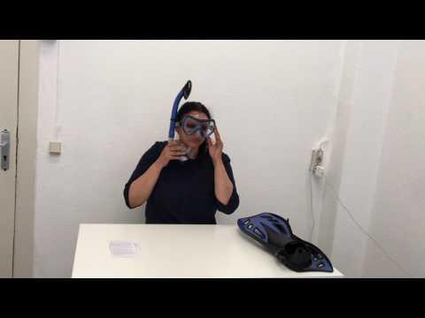 """►  Test-Video des Schnorchelsets """"Nixe"""" von #DoYourSwimming ☑"""