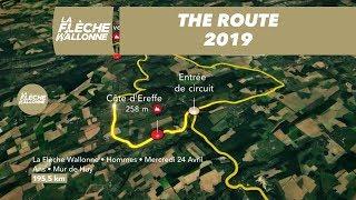 The Route / Le Parcours - Men/ Hommes - La Flèche Wallonne 2019