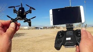DIY S7 (FY605) 720p Micro FPV Drone Flight Test Review