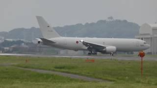 【Flight &Landing】KC-767 Boeing 767-200 87-3602  小牧基地