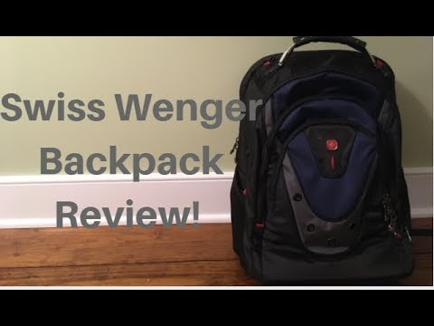 Swiss Wenger Backpack Review!