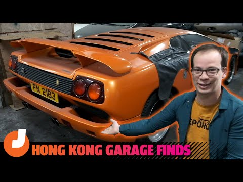 Check Out The Amazing Cars In This Random Hong Kong Parking Garage