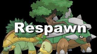 Grotle  - (Pokémon) - Ot Pokemon - Respawn do Turtwig, Grotle e do Torterra (também do Croagunk e do Toxicroak)