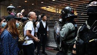 【直播回放】11.11全港三罷 各區現場 香港警察實彈傷民 民情激憤