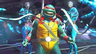 Injustice 2 - All Super Moves on TMNT Raphael (1080p 60FPS)