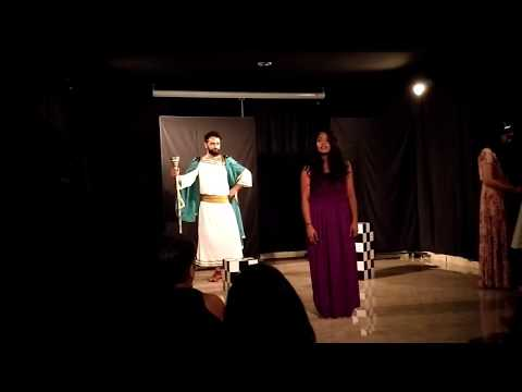 Kaizad as Creon , Live Performance