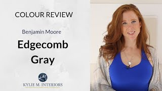 Paint Colour Review: Benjamin Moore Edgecomb Gray