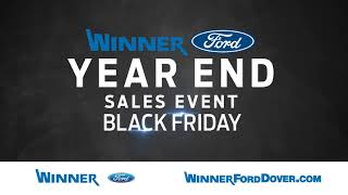 Be a WINNER this Black Friday!