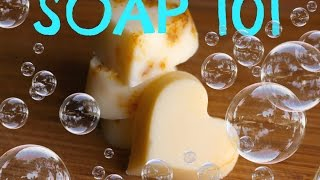 Easy 3 Ingredient Homemade Soap Recipe - How To Make Soap From Scratch
