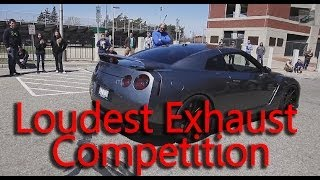 Loudest Exhaust Sound Car Revving Competition - Who Has The Loudest Noise Ever? Mustang?