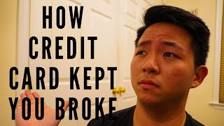 3 Ways Credit Card Ruined Your Wealth [And Kept You Broke]