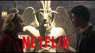 LOL! SATANISTS SUING NETFLIX OVER THE USE OF THE BAPHOMET!