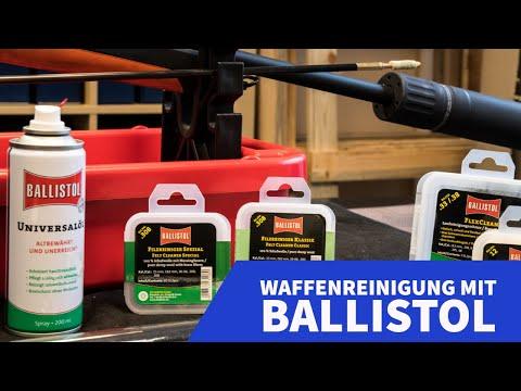 ballistol: Test und Video: Waffenreinigung mit BALLISTOL-Produkten − wird die Merkel wieder sauber?