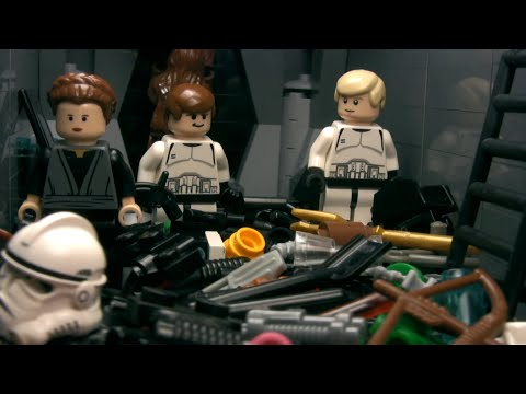 LEGO STAR WARS - The Trash Compactor (adfilms97)