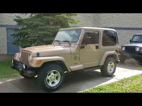 2000 Jeep Wrangler Sahara in Big Bend, Wisconsin - Video 1