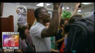 Protesters OVERTAKE Senate Judiciary Chair Grassley's Office With CHANTING Like Zombies!