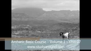 Amharic Basic Course - Volume 1 - Unit 07