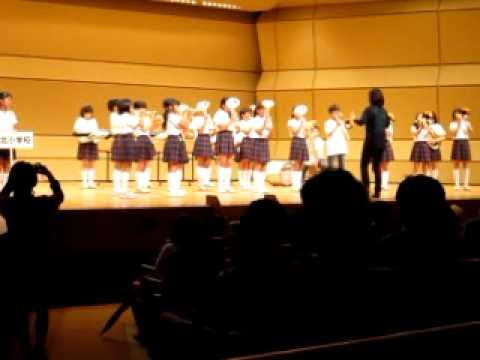 まき夏まつり2012マーチング巻北小学校1曲目