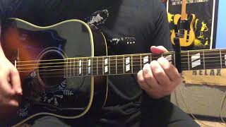 Nanci - Toad the Wet Sprocket - Rough Acoustic Guitar